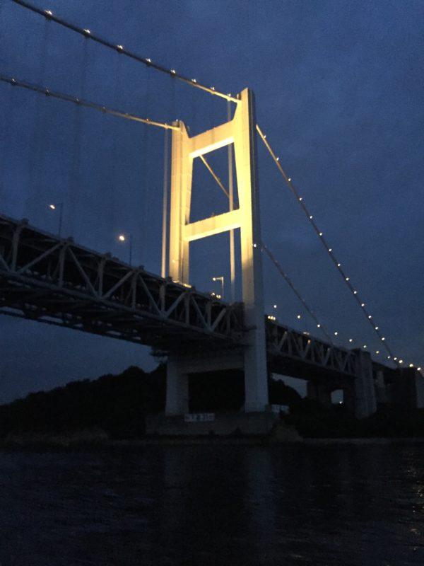 瀬戸大橋 夜景 画像